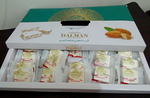 قیمت گز دالمن ۱۸ درصد بادام